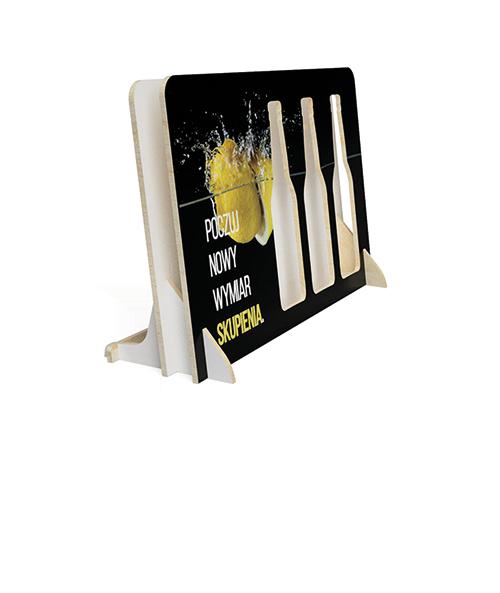 Ekspozytor stand sklepowy na napoje energetyczne - przykład produktu
